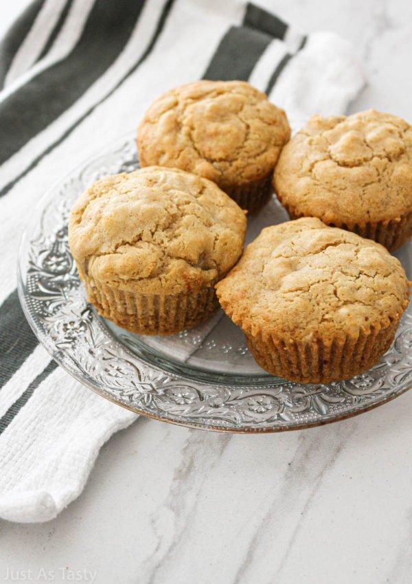 Easy Banana Muffins – Gluten Free, Vegan