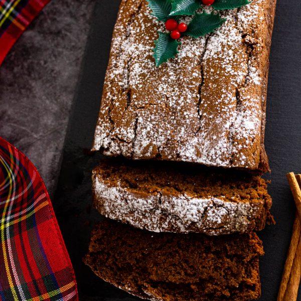 Gingerbread Loaf – Gluten Free, Eggless