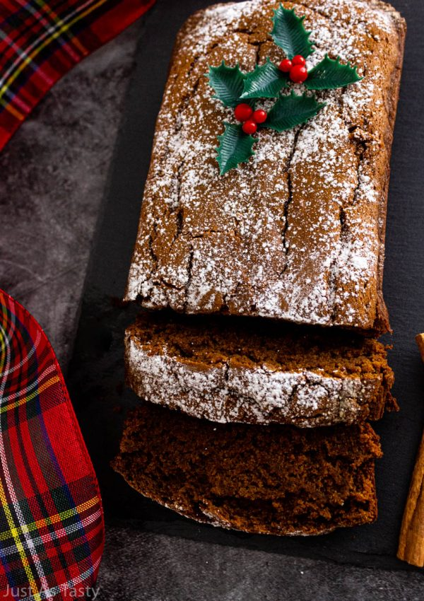 Gingerbread Loaf – Gluten Free, Eggless