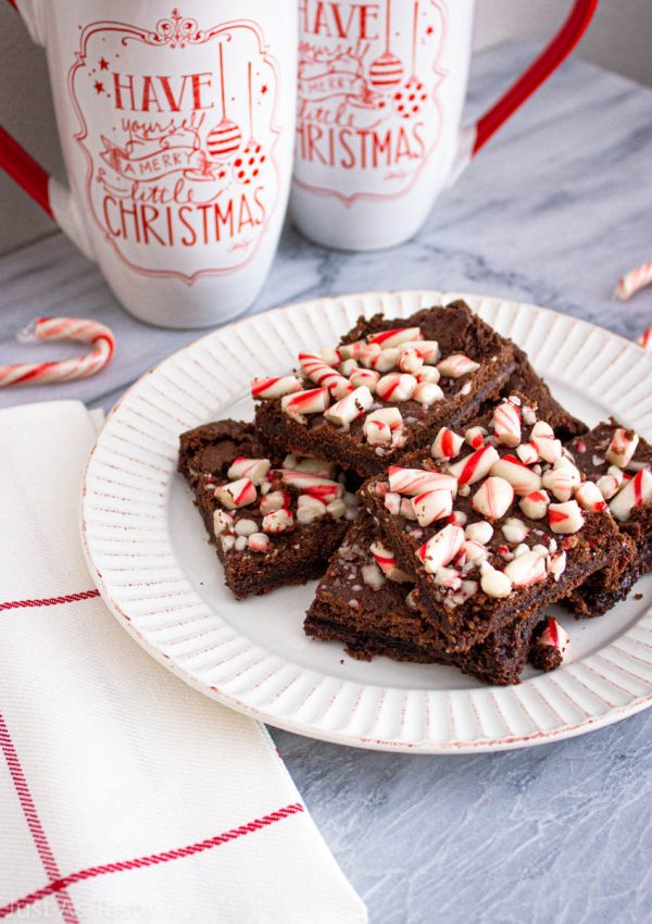 Peppermint Brownies – Gluten Free, Vegan
