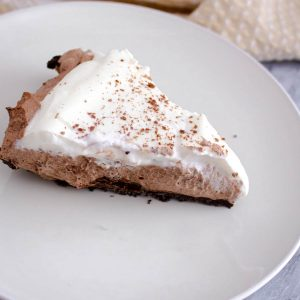 Chocolate Mousse Pie – Gluten Free, Eggless