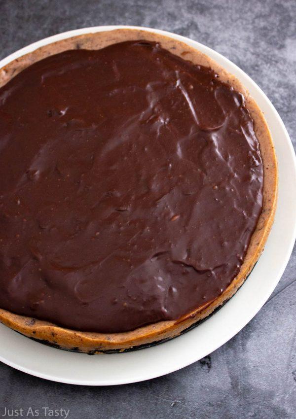 Chocolate Cheesecake – Gluten Free, Eggless