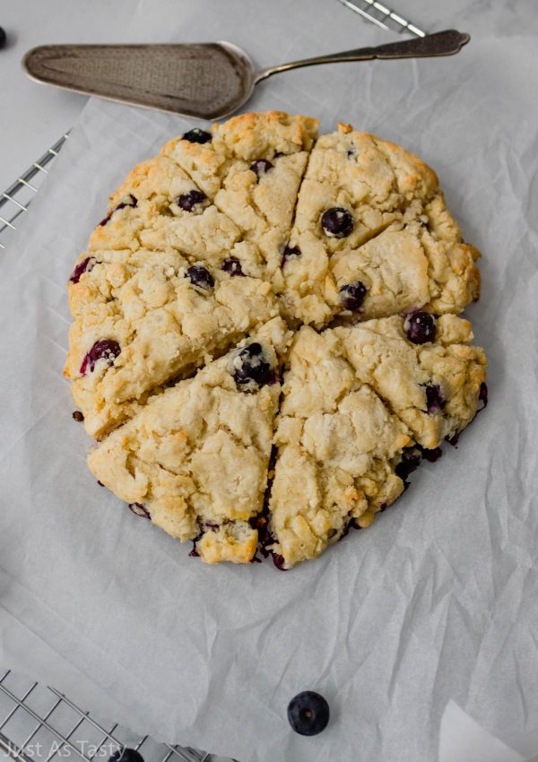 Blueberry Scones – Gluten Free, Eggless