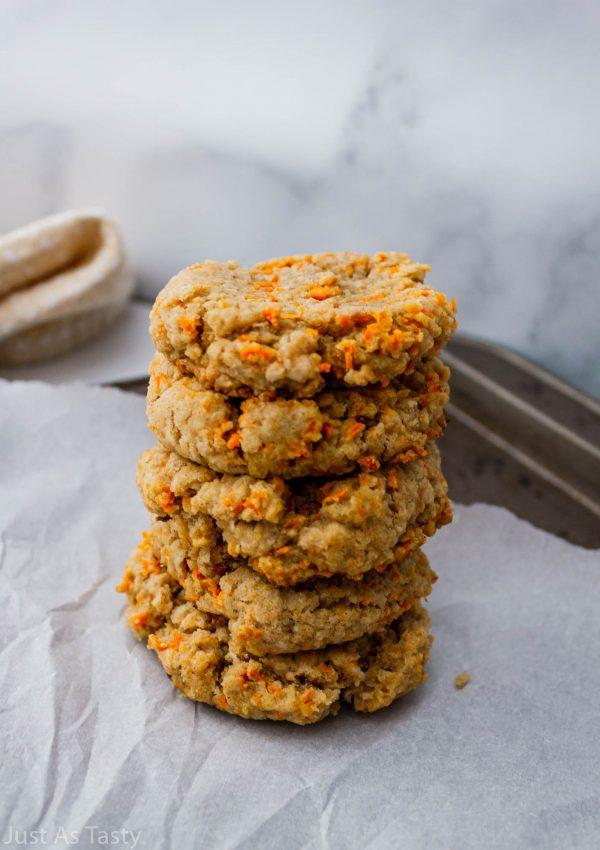 Carrot Cake Breakfast Cookies – Gluten Free, Eggless