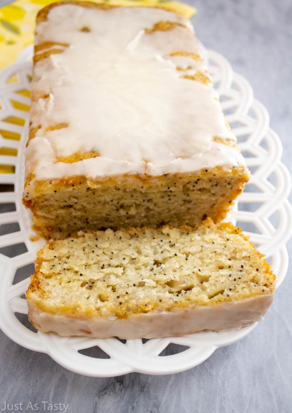 Lemon Poppy Seed Loaf – Gluten Free, Eggless