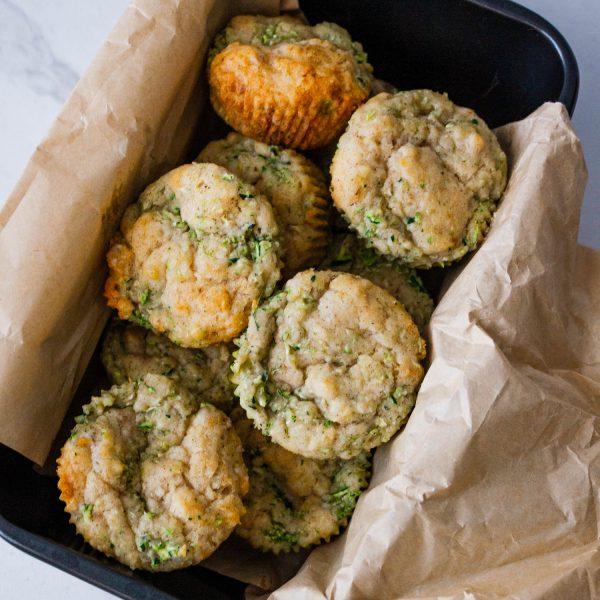 Zucchini Muffins – Gluten Free, Eggless