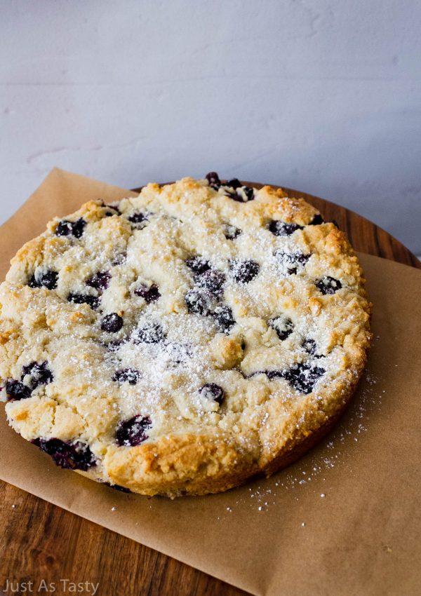 Blueberry Cake – Gluten Free, Eggless